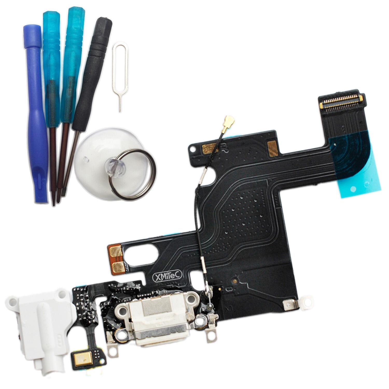 iphone 6 dock connector ladebuchse mikrofon antenne audio jack wei mit werkzeug ebay