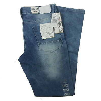 SOUTHPOLE MEN'S LIGHT SAND BLUE DENIM JEANS SKINNY FIT 19121-3010 Blue Skinny Fit Jeans
