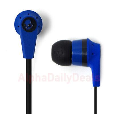 NEW Skullcandy Ink'd 2 Supreme Sound Earbud Headphones with Mic Remote Blue