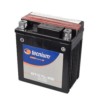 Bateria Moto Tecnium BTX7L-BS   YTX7L-BS   CTX7L-BS Sellada y Activada