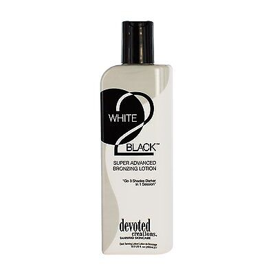 White 2 To Black Indoor Outdoor Tanning Bed Lotion By Devoted Creations