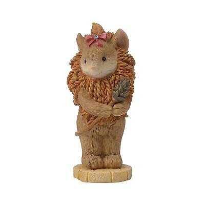 Cowardly Lion Mouse Wizard of Oz 6003613 Tails w/ Heart Christmas Enesco Z