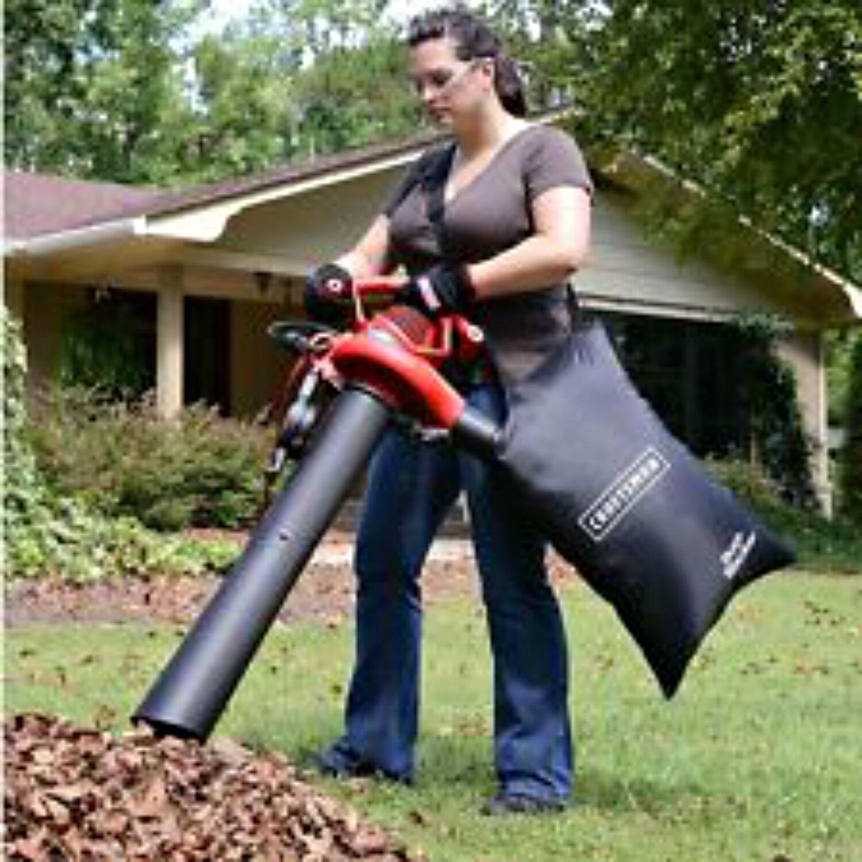 Craftsman Shredder Bagger : Craftsman leaf blower speed amp lawn vacuum mulcher