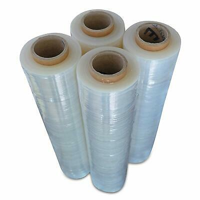 Stretch Wrap Industrial Strength 4 Pack 18 X 1000 Sq Ft - 80 Gauge Thick 20 Mic