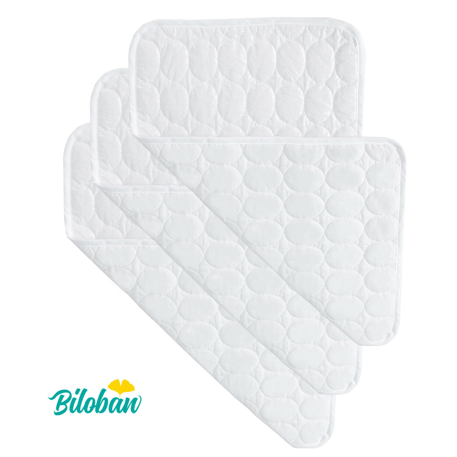 Quilted Cotton Waterproof Diaper Changing Pad Cover Liner 3
