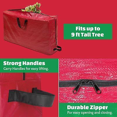 Christmas Tree Storage Bag Heavy Duty Large Size for 9ft Artificial Tree Artificial Tree Storage Bag