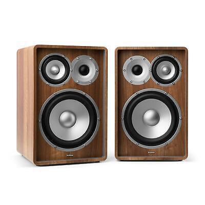 2 Altavoces de Estantería Home Cinema Sistema Audio Graves 20cm 8