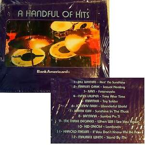 Various-A-HANDFUL-OF-HITS-12-tRACKS-Special-Box-for-Bank-Americard-CD