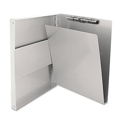 Saunders Snapak Aluminum Side-open Forms Folder 12 Clip 8 12 X 12 Sheets