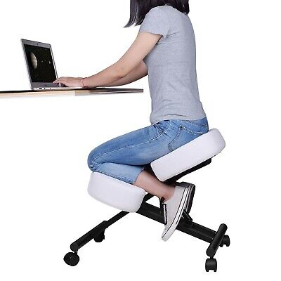 Ergonomic Kneeling Chair Adjustable Stool For Home And Office - Improve Your...