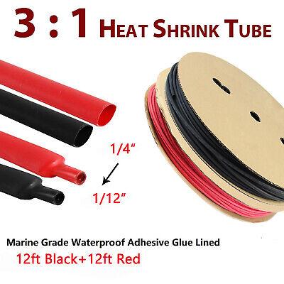 Assortment Heat Shrink Tubing Tube Marine Grade Waterproof Adhesive Liner 31