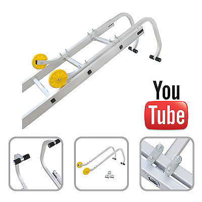 Universal Roof Hook Kit For Aluminium Extension Ladders 1 Year Warranty