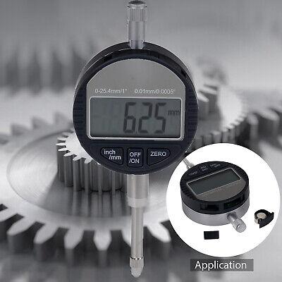 Dti Digital Dial Indicator Probe 0.01mm0.0005 Clock Gauge 0-25.4mm1 Range
