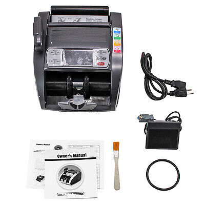 Hfsr Bill Money Counter Currency Cash Counting Machine Uv Mg Counterfeit
