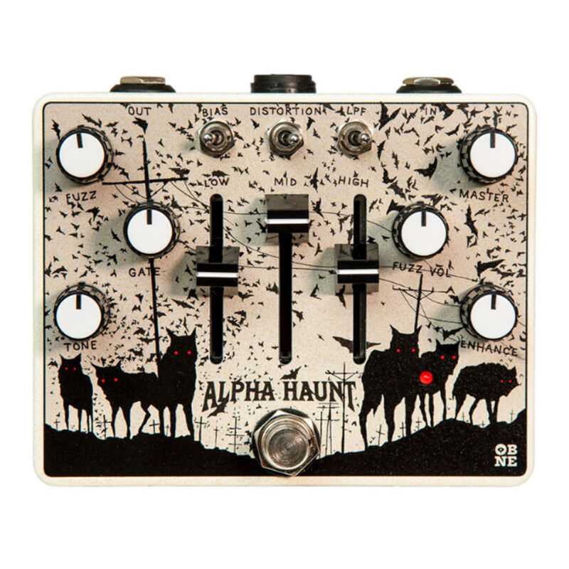 Old Blood Noise Endeavors Alpha Haunt Fuzz Pedal