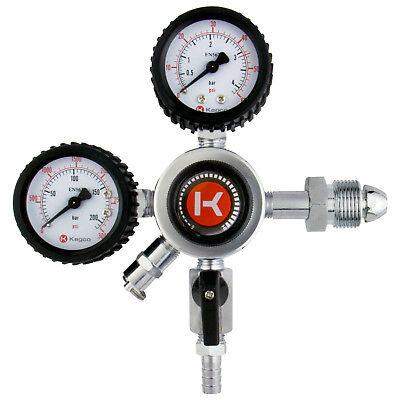 Kegco Hl-62n Premium Commercial Grade Dual Gauge Nitrogen Draft Beer Regulator