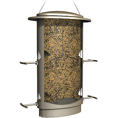 Bird Feeder Squirrel-Proof 4 Feeding Ports 4.2 Lbs Seed Capacity X-1 Tube Type