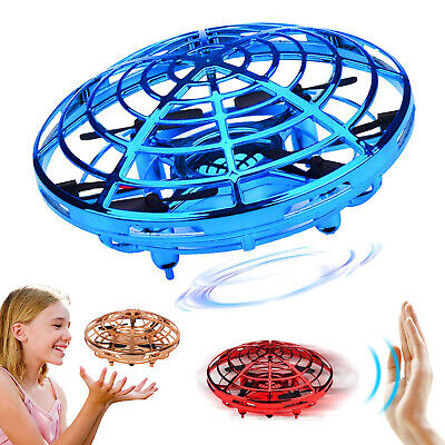 Mini Hand Operated Drones 360° Rotating Smart for Kids Flying Toys Hand Control - Smart Toys For Kids