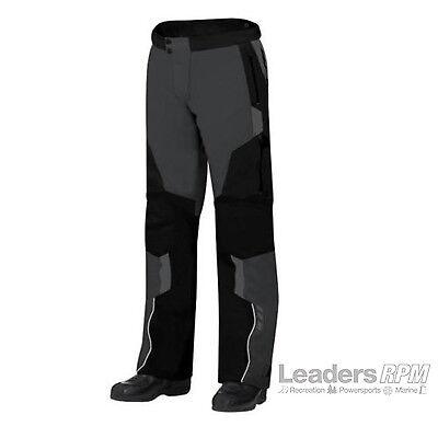 Can-Am Spyder Motorcycle Men's Caliber Waterproof Riding Pants GREY/BLACK Sz 40