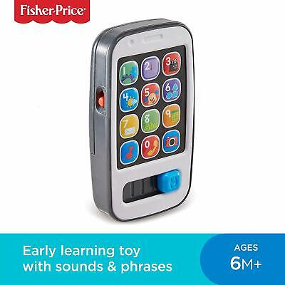 Baby Laugh + Learn Smart Phone Electronic Speaking Role Play Toy Sing-Along Fun