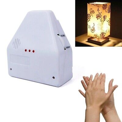 Sound Activated Lamp Switch By Hand Clap Electronic Gadget White Home Decoration for sale  Shipping to United States