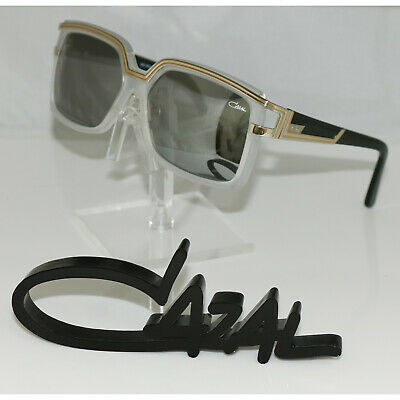 Brand New Authentic CAZAL MOD. 8033 COL. 002 Clear Frost Sunglasses Frame 58mm (Clear Cazal Sunglasses)