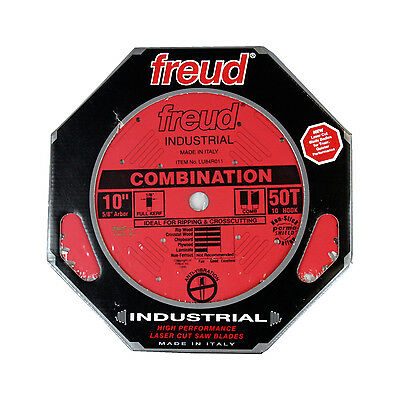 Freud LU84R011 Industrial 10-inch 50T ATB Combination Heavy Duty Saw - Heavy Duty Saw Blade