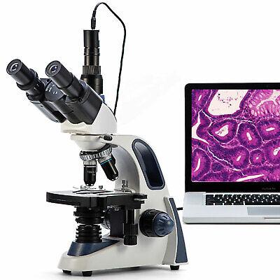 SWIFT Durchlicht Mikroskop Trino 40X-2500X für Studium und Labor Mit...