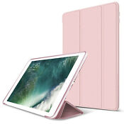 "Shockproof Hybrid Silicone Smart Flip Case Cover For iPad 9.7"" 2018 6th/2017 5th"