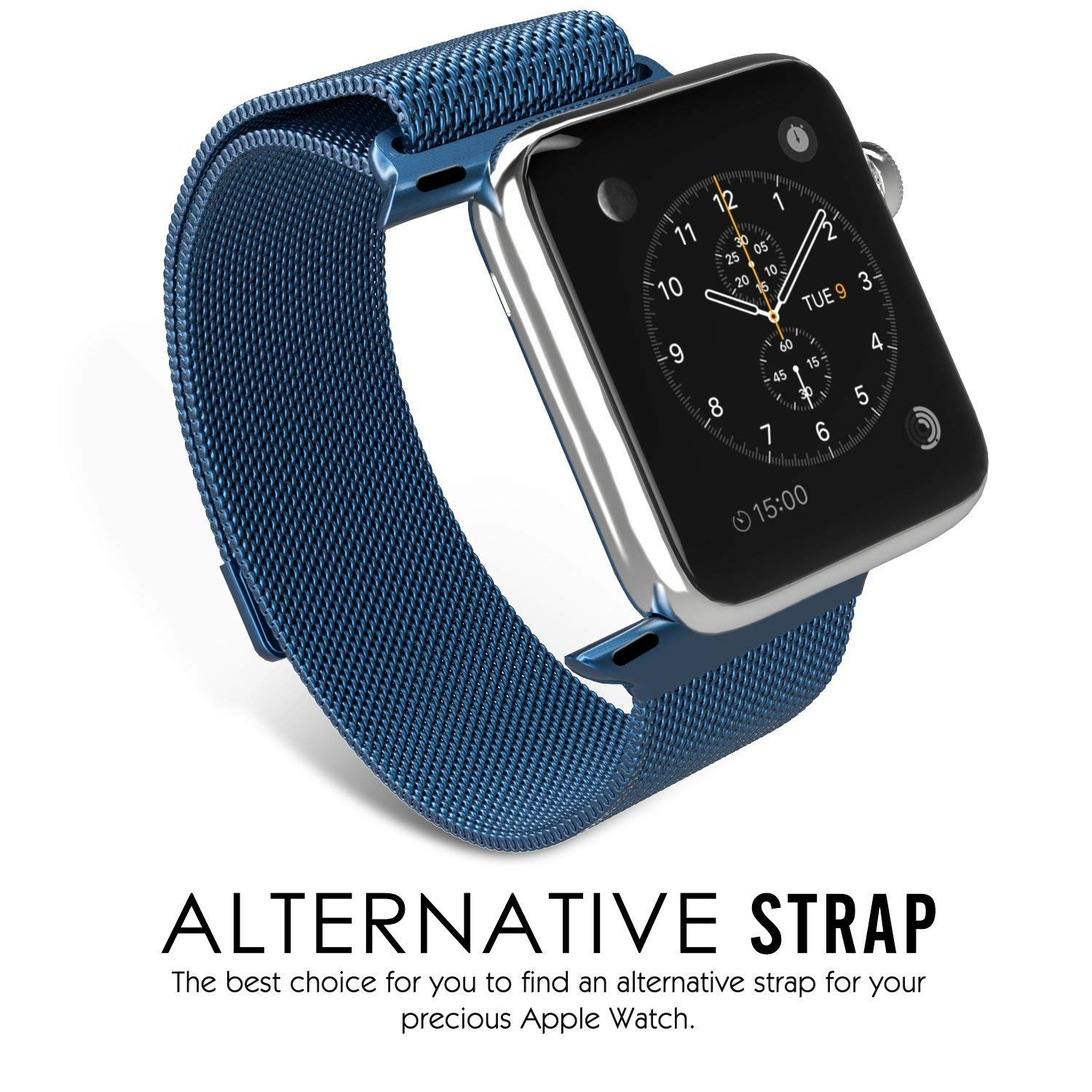 Stainless Steel Metal Band Strap Replacement For NEW Apple Watch Series 4 40mm Jewelry & Watches