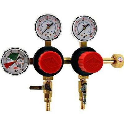 Brand New Taprite T752hp Two Product Dual Pressure Kegerator Co2 Regulator
