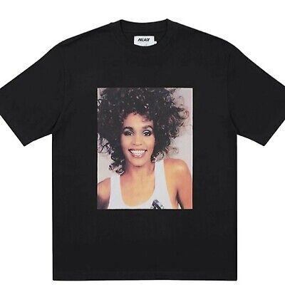 Palace Skateboards Whitney Houston Photo T-shirt Black Large *Order Confirmed*