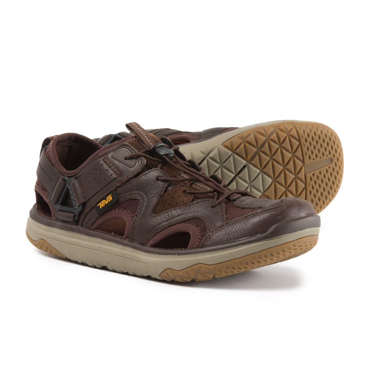 New Men`s Teva Terra-Float Travel Bungee Lace Sandals Shoes 1018739