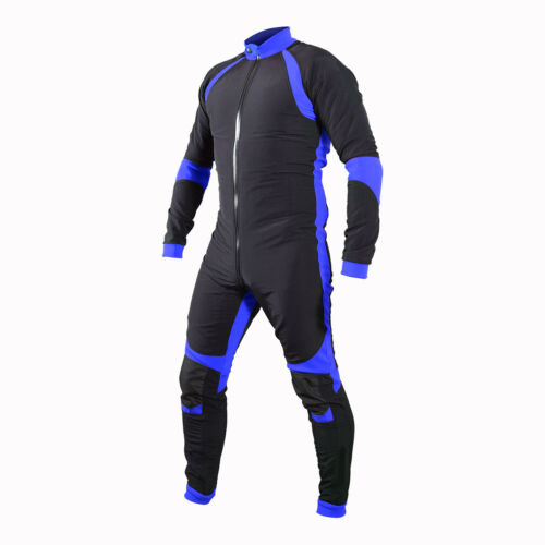 Skydiving Jumpsuit Navy Blue and Black