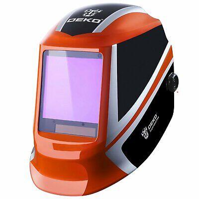Dekopro Solar Auto Darkening Welding Helmet Arc Tig Mig Mask Grinding Welder 238