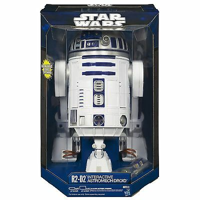 STAR WARS  Droid Robot  R2-D2 Interactive Astromech ~ Voice Commands  NEW -