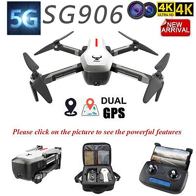 Professional SG906 GPS Drone 4K Dual Camera  5G WIFI FPV Selfie Quadcopter NEW