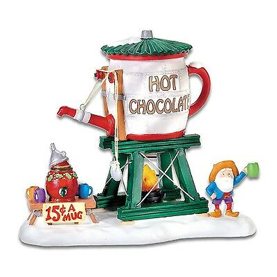 Department 56 North Pole Village Hot Chocolate Tower NEW!