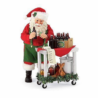[Dept 56 NEW 2020 Possible Dreams Santa Claus Home Brew 6006036</Title]