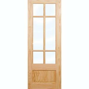 Glazed Wooden Interior Doors