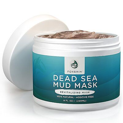 Mud Mask Best Dead Sea Facial Skin Cleanser Pore reducer Blackhead Acne Remover