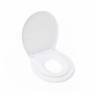 NEW! Soft Close Family Child Potty Training Toilet Seat with Fixings