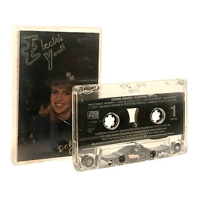 Electric Youth by Debbie Gibson 1989 Altantic Cassette Tape (VG) - XclusiveDealz