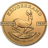 SPECIAL PRICE! 1 oz Gold South African Krugerrand - Random Year