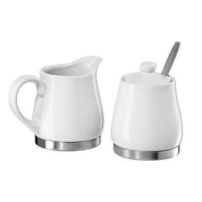 Milk And Sugar Set Cream Jug And Sugar Bowl Set Porcelain Ceramic Kitchen Set