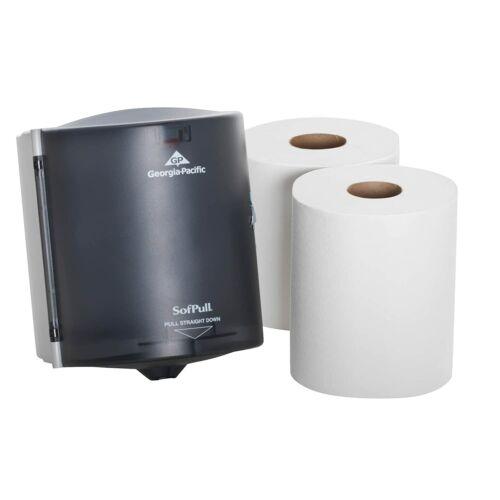 Centerpull Regular Capacity Paper Towel Dispenser Trial Kit: 1-dispenser+2-rolls