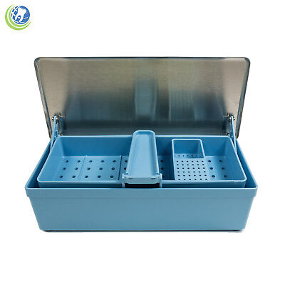 Germicide Tray Cold Sterilization Dental Medical Tattoo Instrument Case 164-2010