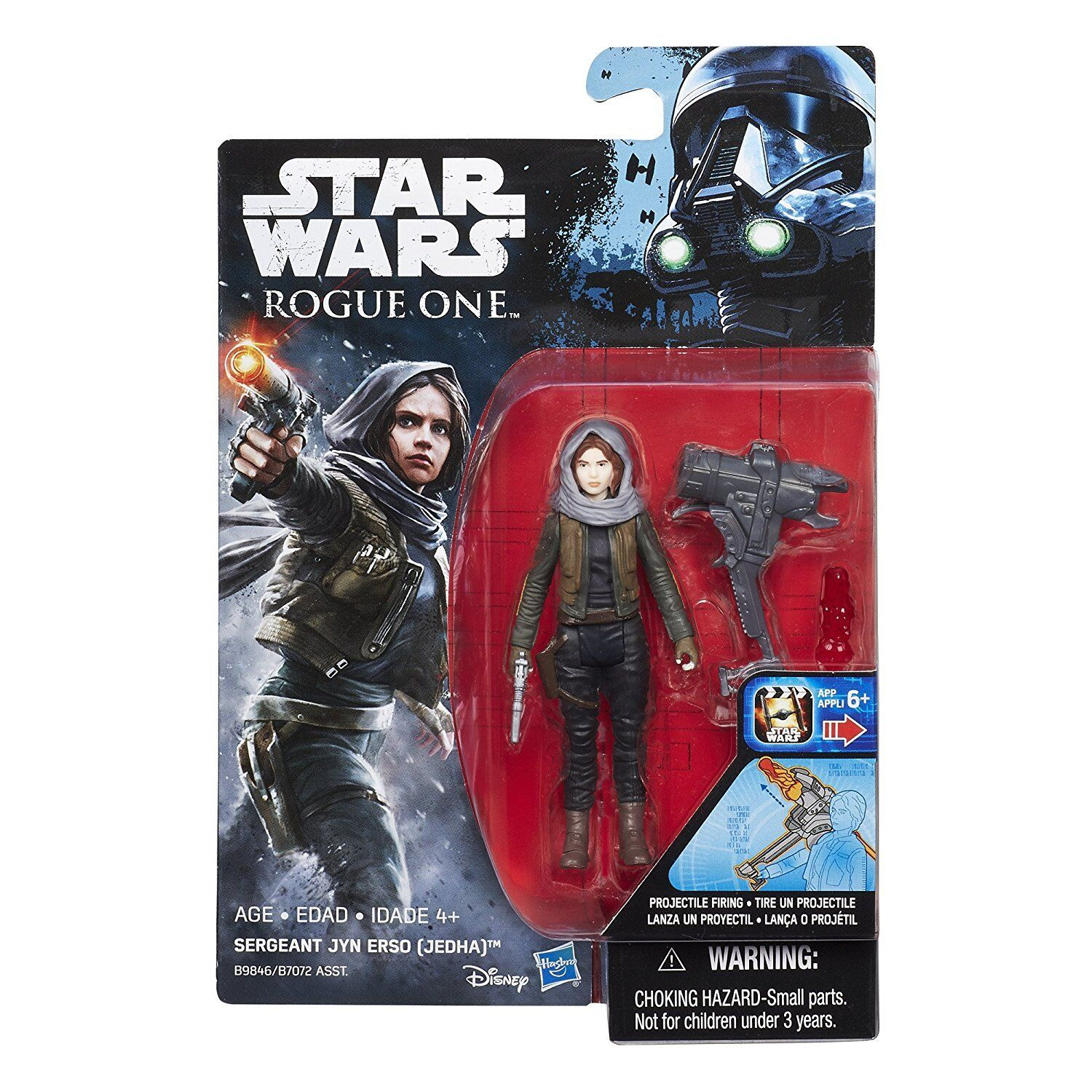 Rogue One-UNE STAR WARS STORY-Sergent United erso 3.75 Action Figure Disney