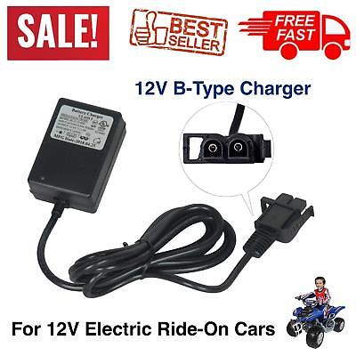 Battery CHARGER 12 Volt For Power Wheels Kid 12V Kids Electric Ride On Cars ATV