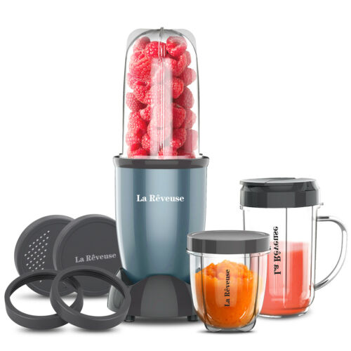 La Reveuse Personal Size Bullet Blender 250W for Kitchen Shakes Smoothies Mixer